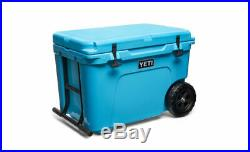 New YETI 2428 Tundra Haul Cooler, Reef Blue 28 1/4 × 19 1/2 × 18 5/8