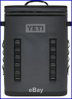 New YETI Hopper BackFlip 24 Cooler Backpack Charcoal