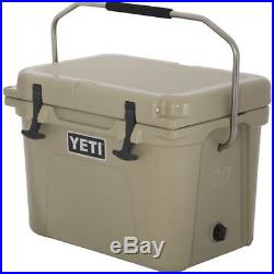 New YETI Roadie 20 qt Cooler Tan Free Shipping