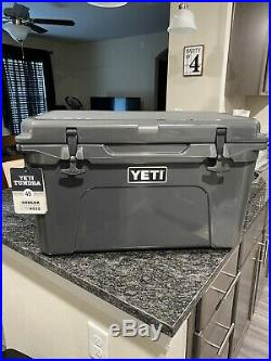 New YETI Tundra 45 Charcoal Gray Cooler. Limited edition color
