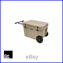 New YETI Tundra Haul Wheeled Insulated Ice Chest Cooler Box-Tan-Fast Shipping