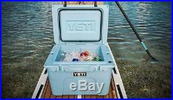 New Yeti Cooler Ice Tundra 35 Blue Outdoor Ice Chest Camping Fishing Boating