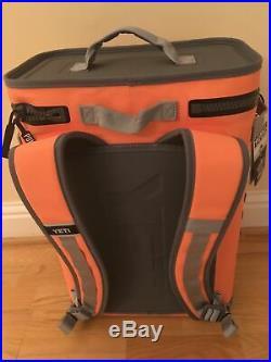 New Yeti Hopper Backflip 24 Backpack Cooler Coral