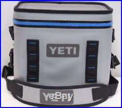New Yeti Hopper Flip 12 Can Portable Cooler Gray Soft Side