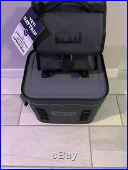 New Yeti Hopper Flip 12 Portable Cooler And DayTrip Lunch Cooler (charcoal)