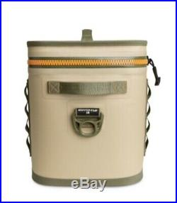 New Yeti Hopper Flip 18 Soft-Side Field Tan/Blaze Orange Cooler Bag YHOPF18