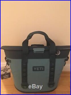 New! Yeti Hopper M30 Soft Cooler- River Green