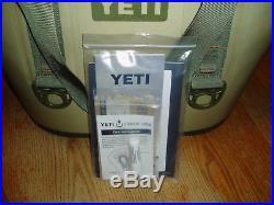 New Yeti Hopper Two 20 Softside Cooler Bag Field Tan Blaze Orange Leakproof