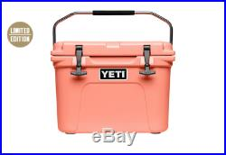 New Yeti Roadie Limited Edition Color Coral Cooler Brand New 20 Qt Look