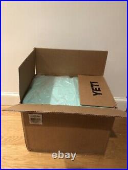 New Yeti Sea Foam Green 35 Tundra Cooler Limited Edition