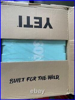 New Yeti Sea Foam Green 35 Tundra Cooler Limited Edition ABSOLUT SAMPLE