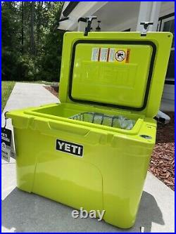 New Yeti Tundra 35 Insulated Hard Cooler, Chartreuse