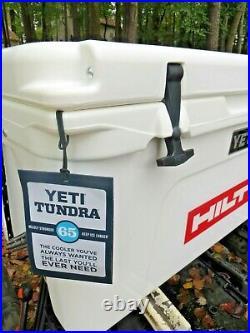 New Yeti Tundra 65 Quart Cooler Hilti White Color