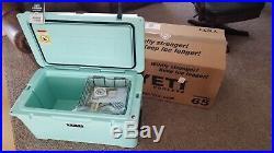 New Yeti Tundra 65 Quart Cooler Seafoam Green YT65SG