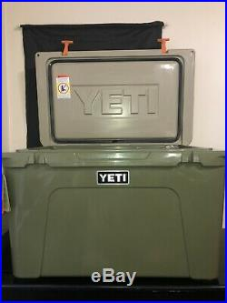 New Yeti Tundra Cooler 105 High Country Limited Edition With Olive Ramblers
