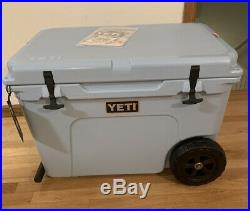 New Yeti Tundra Haul Cooler Out Of Production Ice Blue Wheeled Cooler