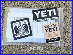 New with tags YETI TUNDRA 45 SEAFOAM COOLER Rare Limited Edition Color