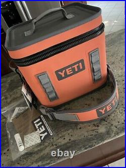 Orange yeti hopper flip 12 cooler