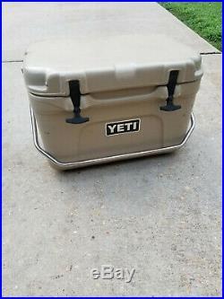 Original & Extremely Rare Vintage Yeti Roadie 25 Cooler Desert Tan EUC