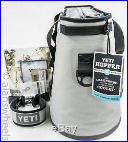Original Yeti Hopper 40 Soft Cooler Fog Gray Tahoe Blue Brand New Free Shipping