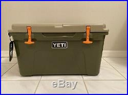 Out Of Production Two Tone Yeti High Country Tundra 45 Cooler -nwt Unregestered