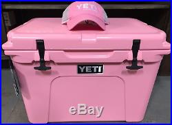 PINK LIMITED EDITION- Yeti TUNDRA 50 quart Cooler Ice Chest with FREE HAT- YT50P
