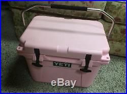 PINK Limited Edition Breast Cancer YETI 20 Roadie Cooler