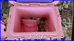 Pink YETI Roadie 20 cooler DISCONTINUED STYLE & COLOR
