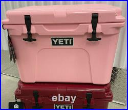 RARE 2017 Limited Edition PINK Yeti Tundra 35 Cooler Breast Cancer NEW NICE