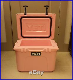 RARE Limited Edition Pink Breast Cancer Awareness Yeti 20qt Roadie Cooler