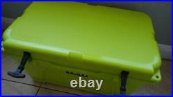 Rare retired YETI Tundra 45 Chartreuse Cooler Neon Yellow