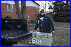 Roto-molded 65 Quart Cooler Ice Box- White- New in Box (YETI RTIC)