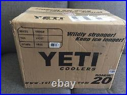 SEALED BOX Limited Edition YETI Roadie 20 LE CORAL Hard Cooler BRAND NEW