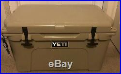 Tundra 45 Cooler Desert Tan Outdoor Camping Hiking Heavy-duty Rubber Sturdy