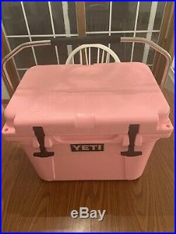 Ultra Rare Yeti Roadie 20 Cooler Limited Edition Pink