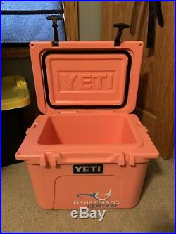 Used 1x YETI ROADIE LIMITED EDITION COLOR CORAL COOLER BRAND NEW 20 QT