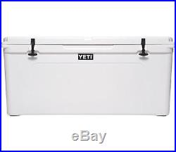 White Yeti Tundra 160 Quart Best Big Huge Hard Cooler Cool Box