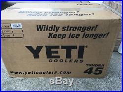 White Yeti Tundra 45 Cooler Brand New in box