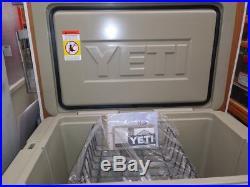 YETI 105 Tan cooler Factory sealed box Brand New