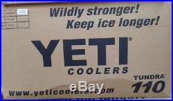 YETI 110 cooler WHITE Factory sealed box Brand New