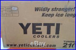 YETI 210 cooler WHITE Factory sealed box