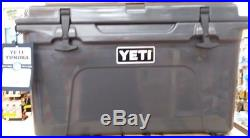 YETI 45 QT. Tundra COOLER CHARCOAL New NEW LIMITED EDITION COLOR