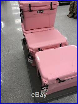 YETI 50 Tundra COOLER -Limited Edition -PINK- Comes With Pink YETI Hat