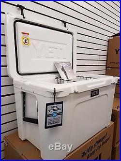 Yeti Cooler White Tundra 105 Cooler Size 105 New Yt105w