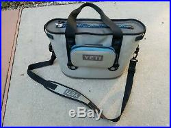 YETI Charcoal Grey HOPPER 20 Soft Sided Cooler With 2 Sidekick Bags