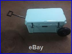 YETI Cooler 65 Wheel Tire Axle Kit THE HANDLE Accessory Included-NO COOLER