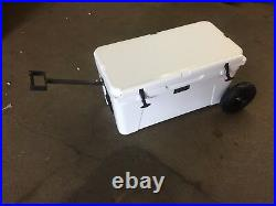 YETI Cooler 75 Wheel Tire Axle Kit THE HANDLE Accessory Included-NO COOLER