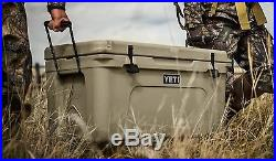 YETI Coolers Tundra 65 hard Side Cooler/Ice Chest Tan NIB! AUCTION