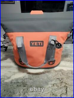 YETI Coral Hopper M30 New with Tags Insulated Bag Cooler, Discontinued