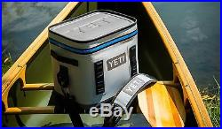 YETI Flip 12 Leakproof Cooler BRAND NEW Gray & Blue FREE Shipping